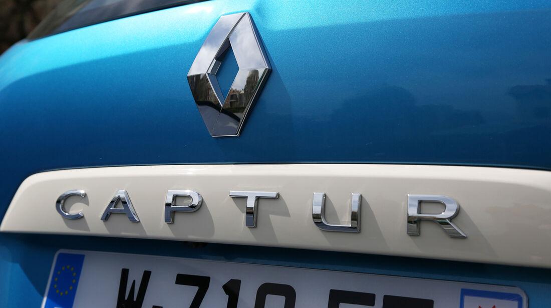 Renault Captur TCe 120, Typenbezeichnung