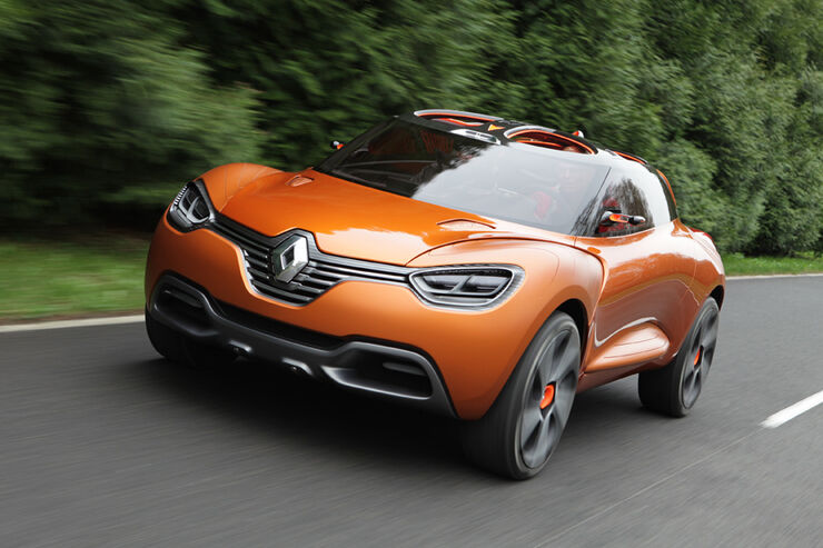 Renault Capture, Frontansicht