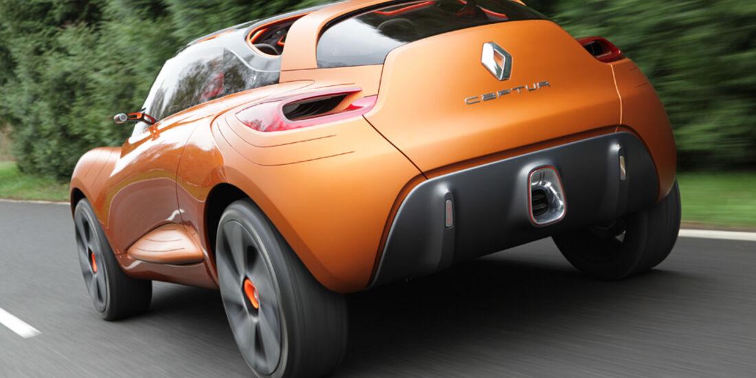 Renault Capture, Heckansicht