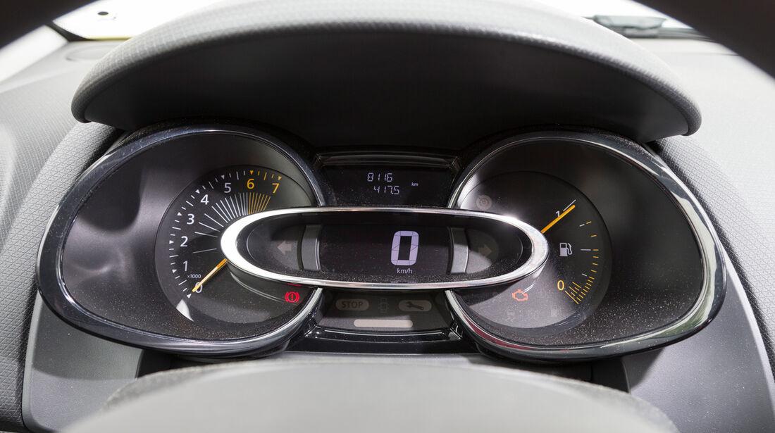 Renault Clio 1.2 16V 75, Rundinstrumente