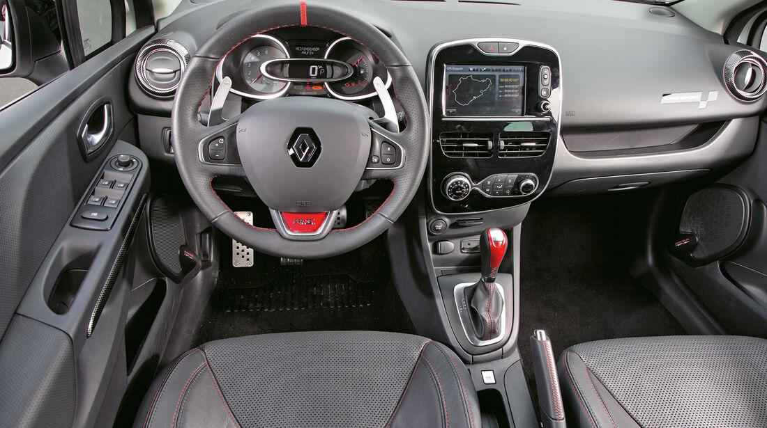 Renault Clio R.S. 220 Trophy, Cockpit