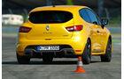 Renault Clio RS, Heckansicht, Slalom