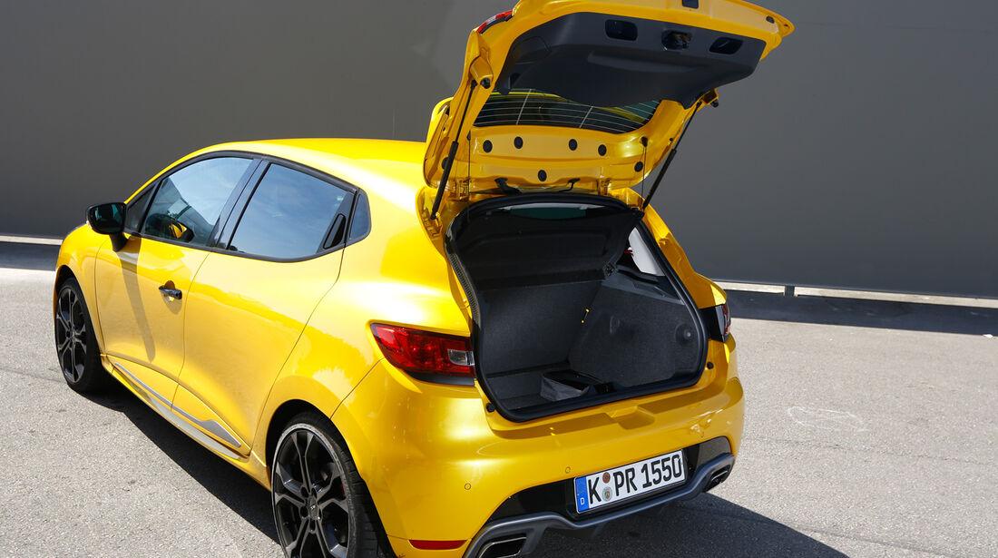 Renault Clio RS, Heckklappe, Kofferraum