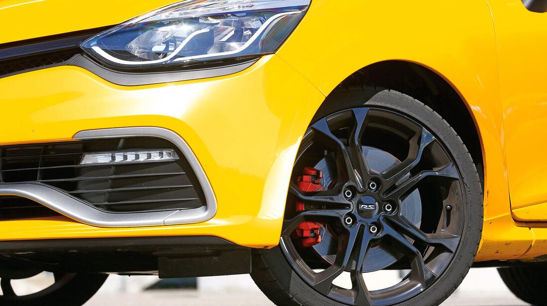 Renault Clio RS, Rad, Felge