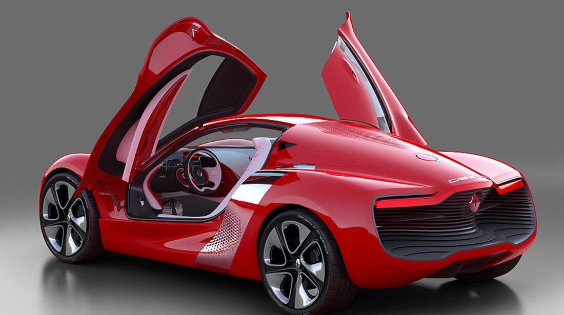 Renault Dezir, Elektrostudie