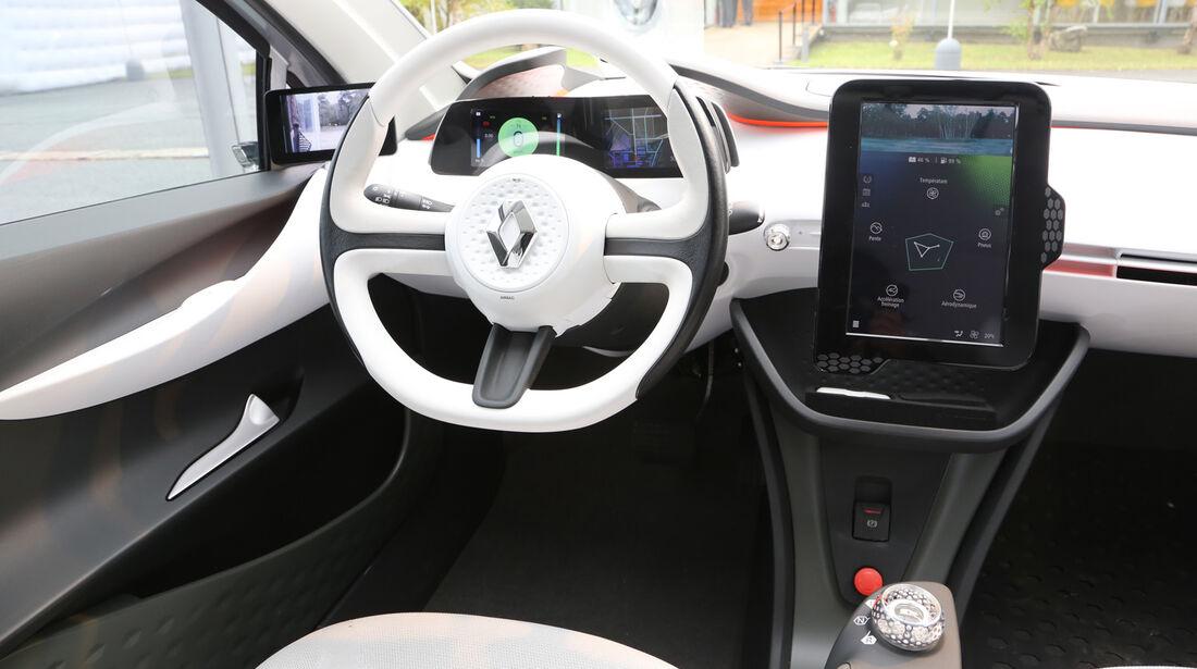 Renault Eolab, Fahrbericht, Cockpit