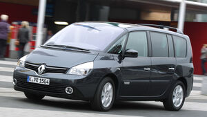 Renault Espace, Frontansicht