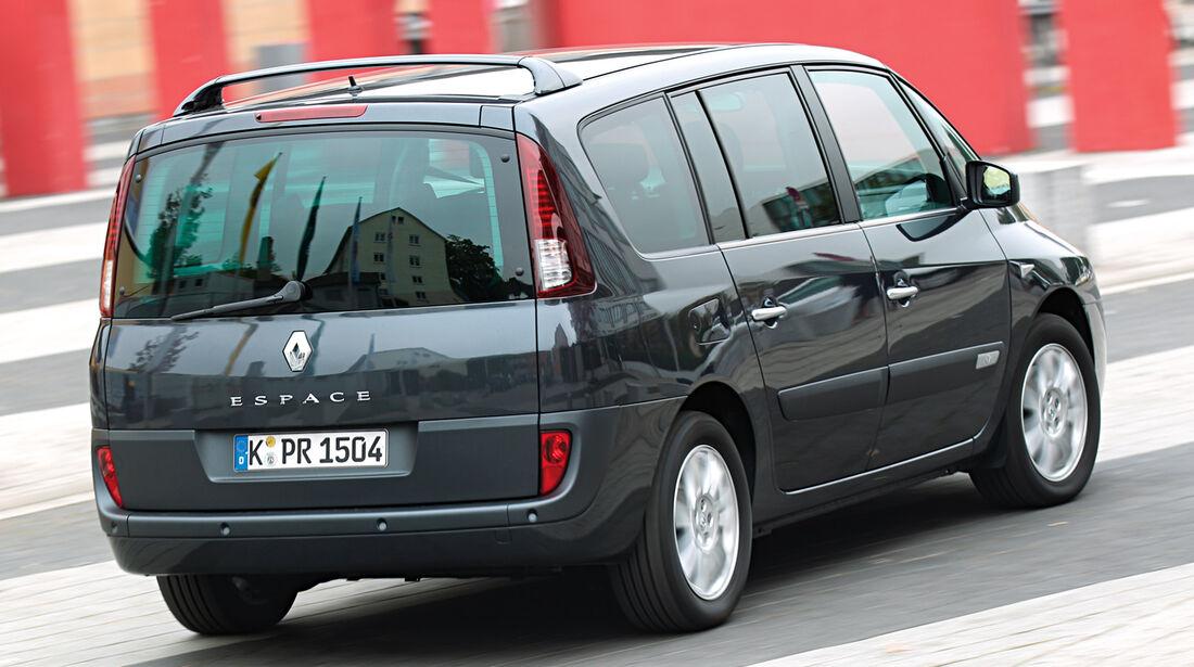 Renault Espace, Heckansicht