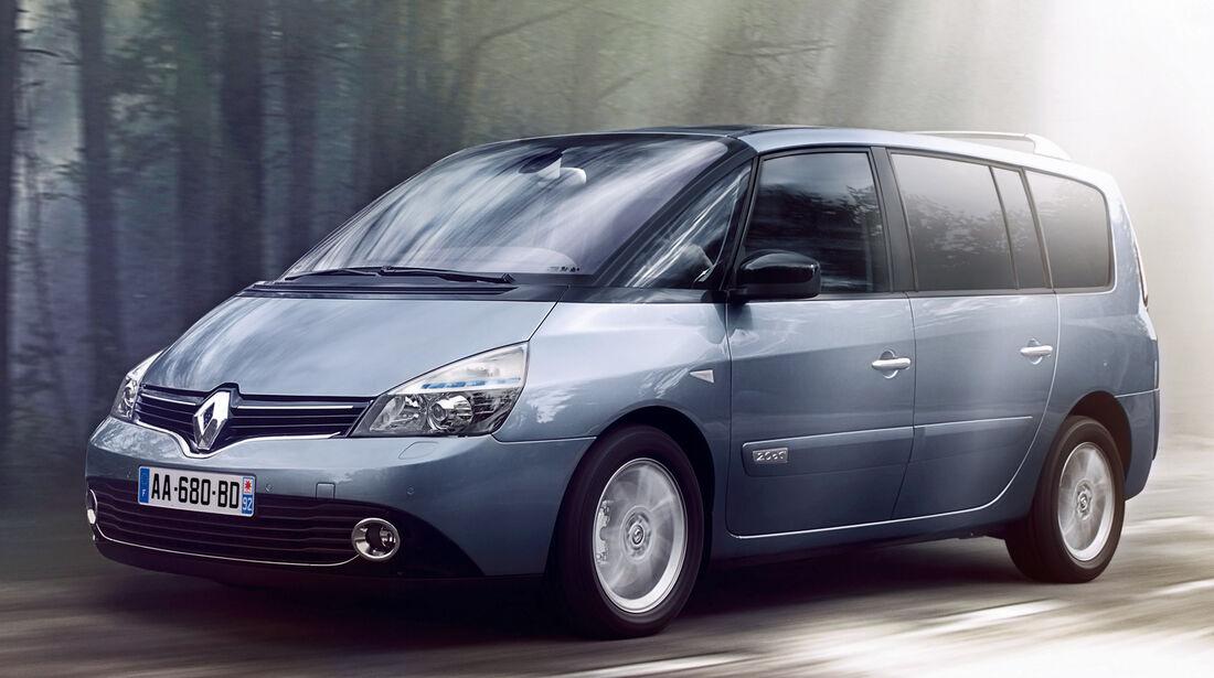 Renault Espace, Seitenansicht