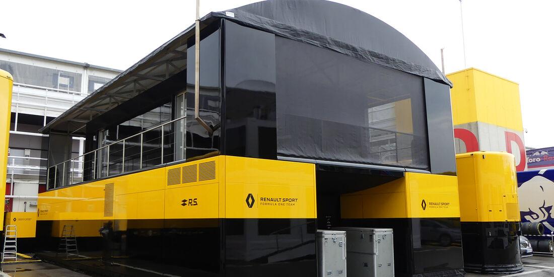 Renault - F1-Motorhomes - GP Spanien 2018
