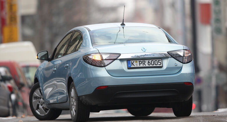 Renault Fluence Z.E., Heck