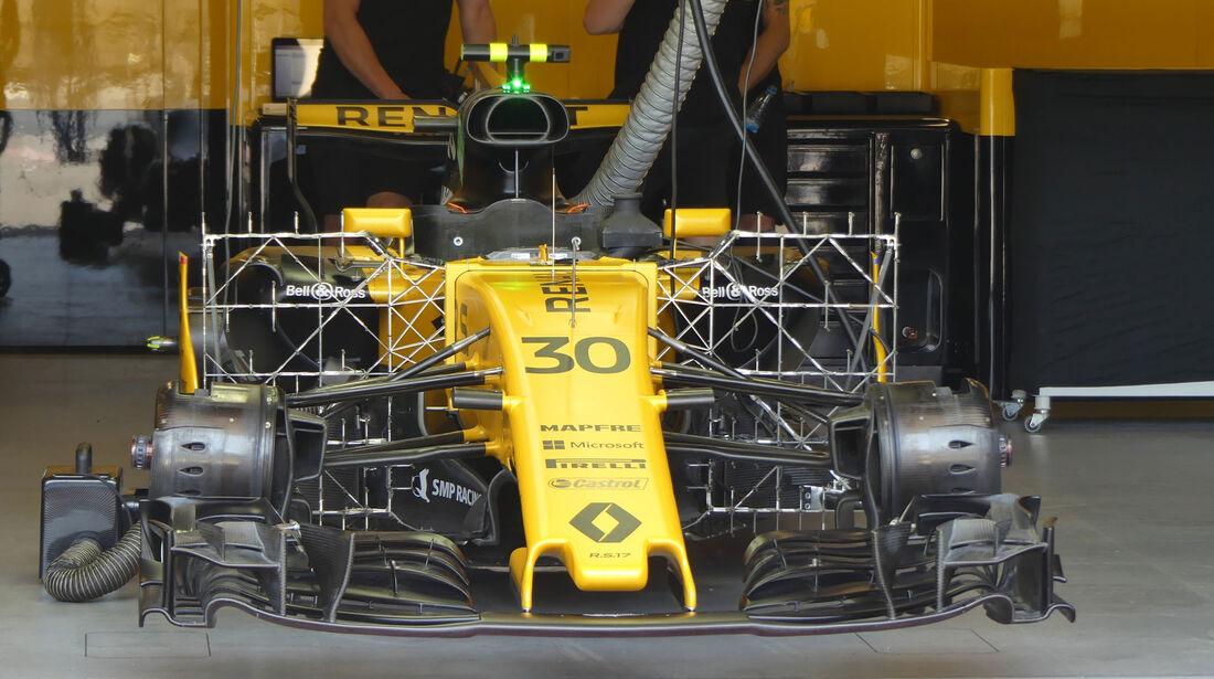 Renault - Formel 1 - GP Aseerbaidschan 2017 - Training - Freitag - 23.6.2017