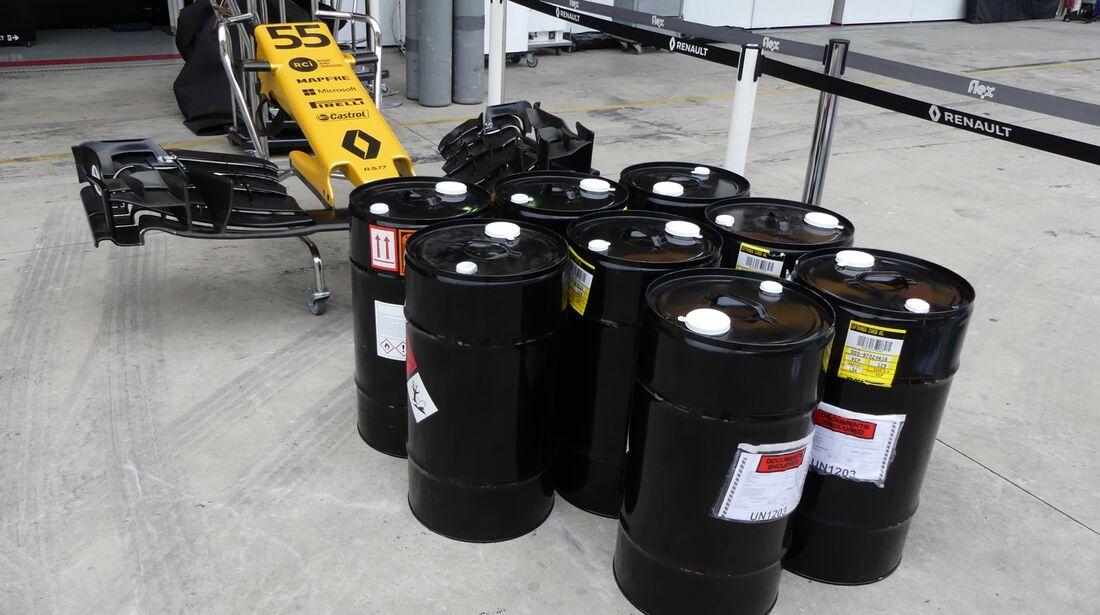Renault - Formel 1 - GP Brasilien - 8. November 2017