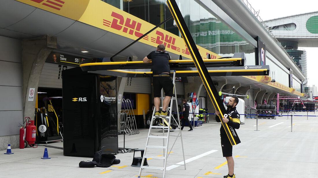 Renault - Formel 1 - GP China - Shanghai - 12. April 2018