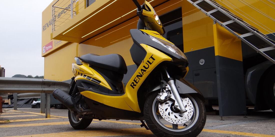 Renault - Formel 1 - Test - Barcelona - 21. Februar 2013