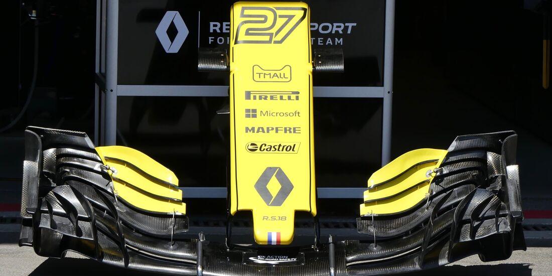Renault Frontflügel - Formel 1 - GP Aserbaidschan - 26. April 2018