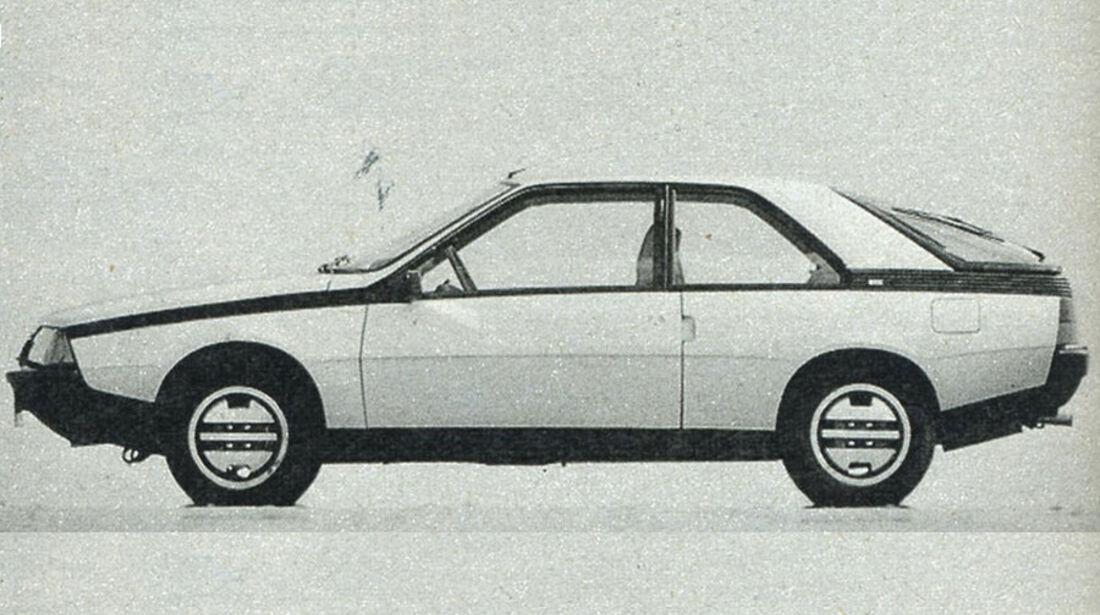 Renault, Fuego, IAA 1981