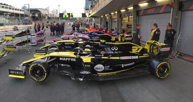 Renault - GP Aserbaidschan 2019