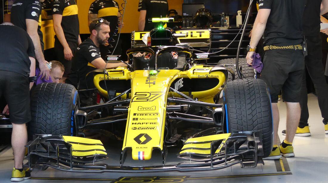 Renault - GP Australien 2018 - Melbourne - Albert Park - Donnerstag - 22.3.2018