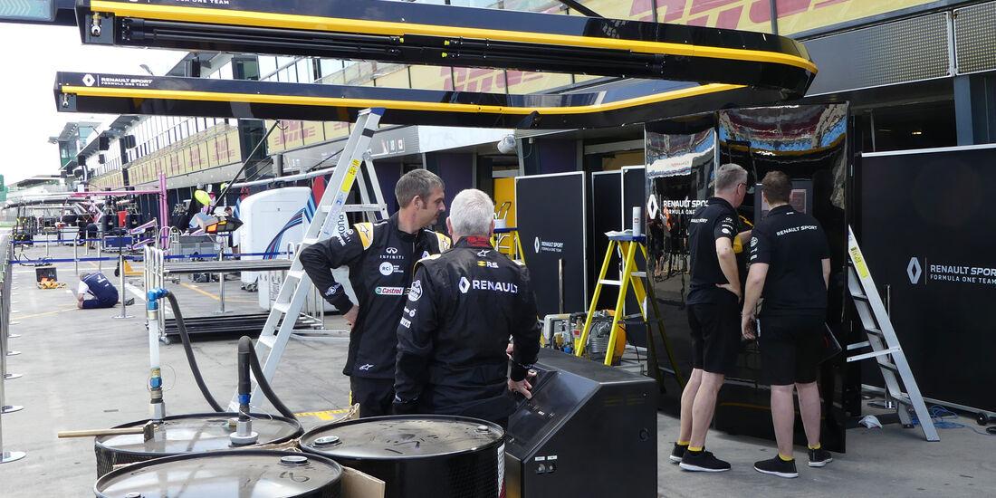 Renault - GP Australien 2018 - Melbourne - Albert Park - Mittwoch - 21.3.2018