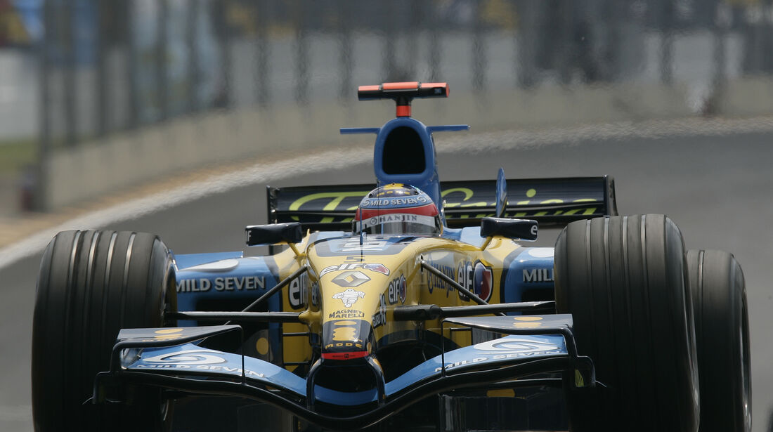 Renault - GP Brasilien - 2005 - F1