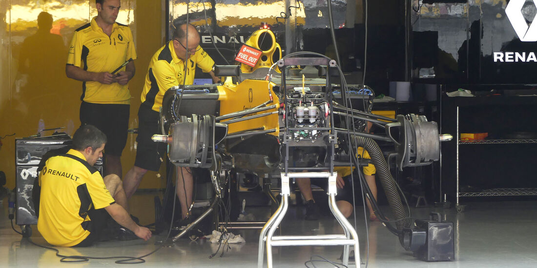 Renault - GP China - Shanghai - Donnerstag - 14.4.2016