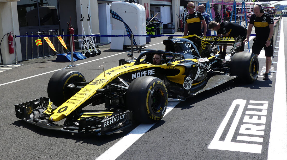 Renault - GP Frankreich - Paul Ricard - Formel 1 - 21. Juni 2018