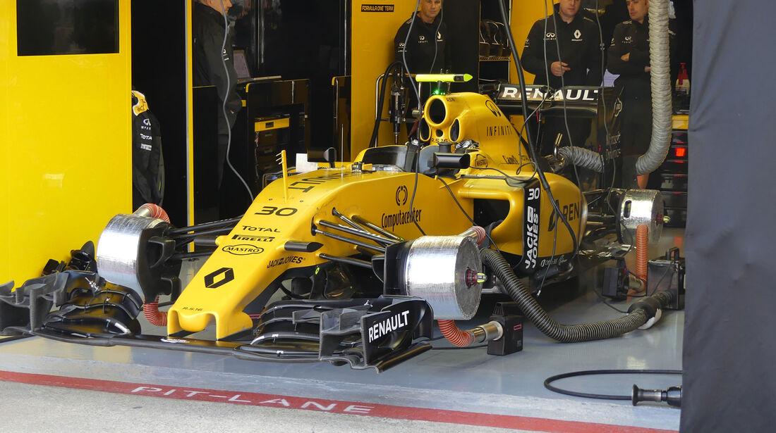 Renault - GP Kanada - Montreal - Freitag - 10.6.2016