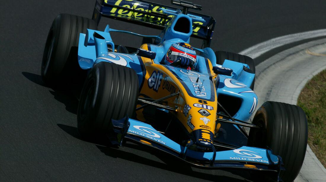 Renault - GP Ungarn - 2004 - F1