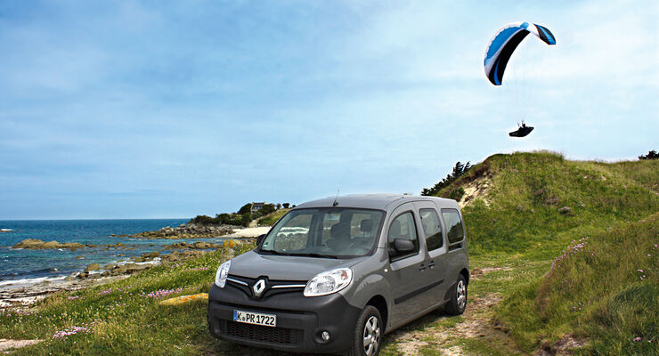 Renault Grand Kangoo 110 dCi, Frontansicht