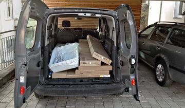 Renault Grand Kangoo 110 dCi, Kofferraum