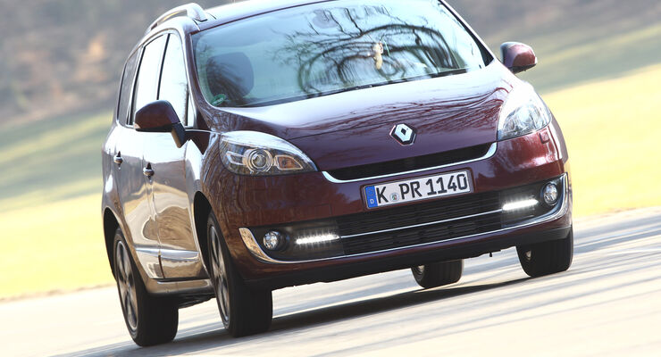 Renault Grand Scenic Dci 110 EFP, Frontansicht