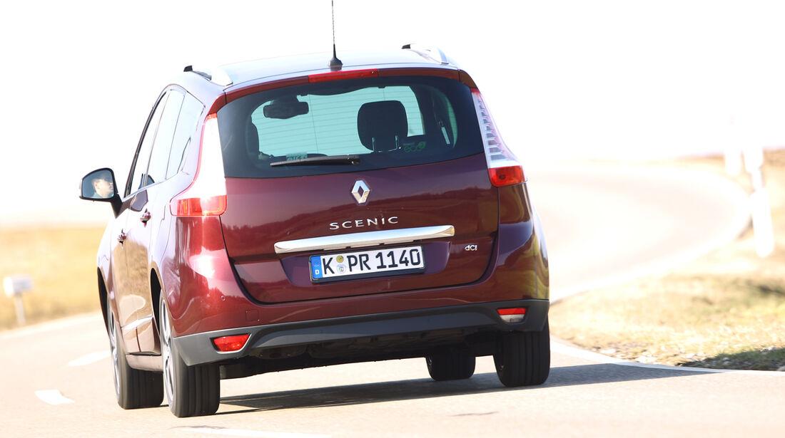Renault Grand Scenic Dci 110 EFP, Heck