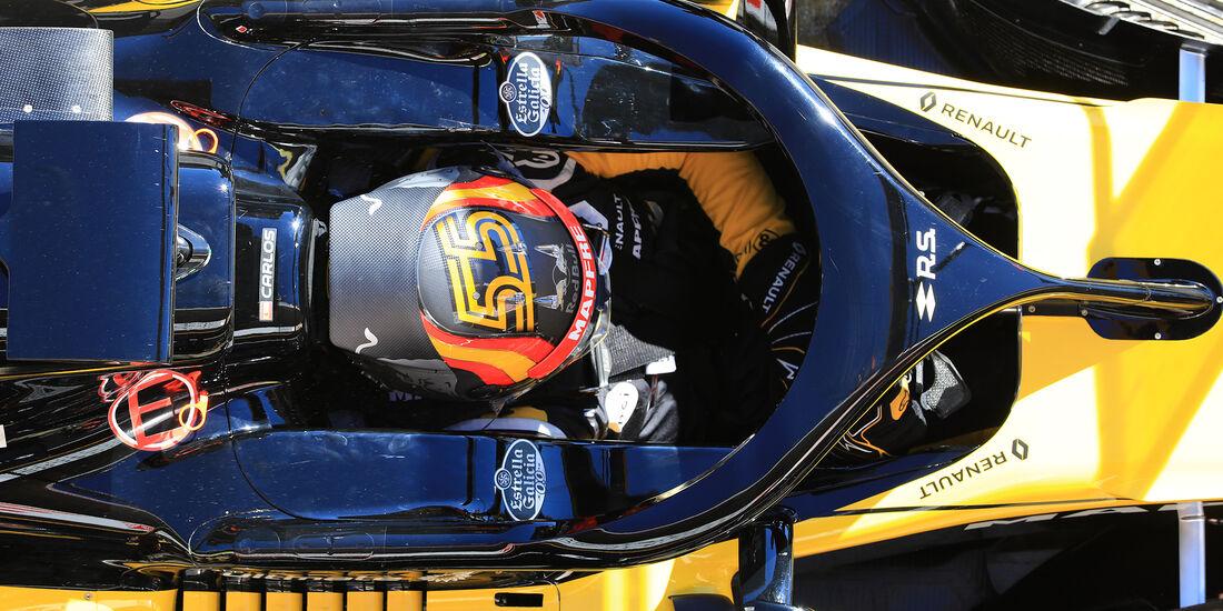 Renault - Halo - F1-Test - Barcelona - 2018