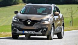 Renault Kadjar TCe 130, Frontansicht