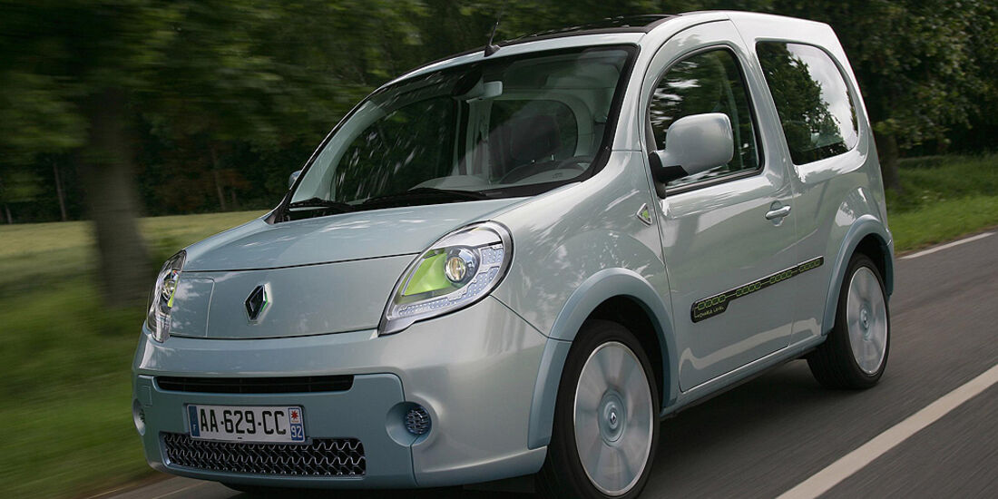 Renault Kangoo Be Bop Z. E.