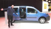 Renault Kangoo Sitzprobe Markus Stier Autosalon Genf 2013