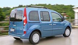 Renault Kangoo dCi 85, Heckansicht