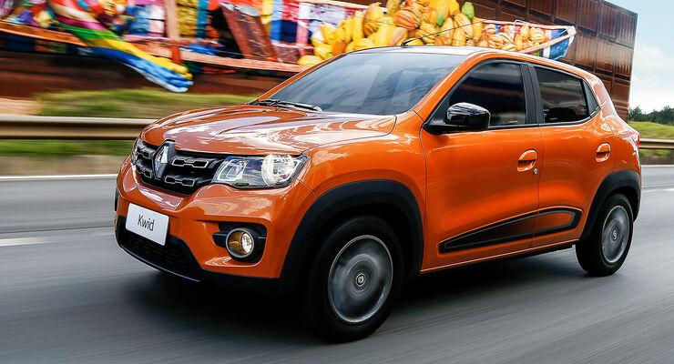 Renault Kwid Front Seite Fahrbild