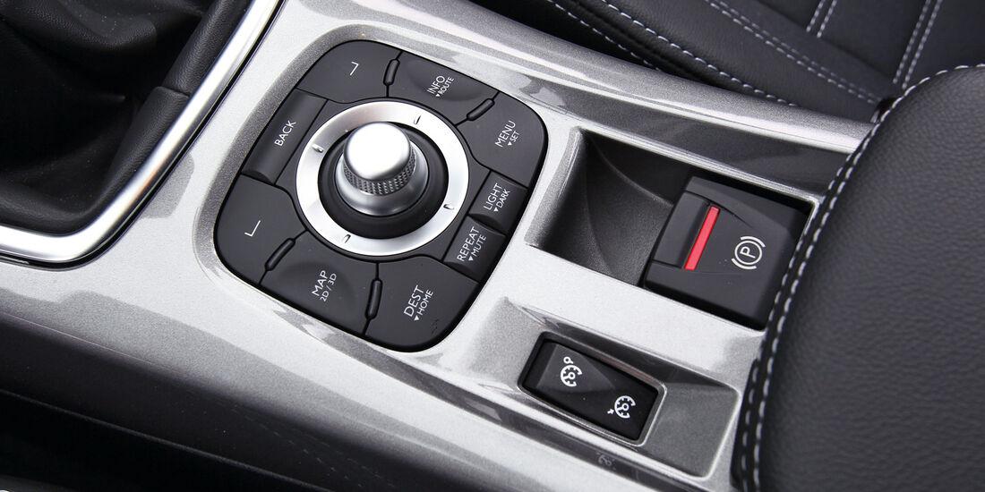 Renault Laguna Energy dCi 150, Mittelkonsole