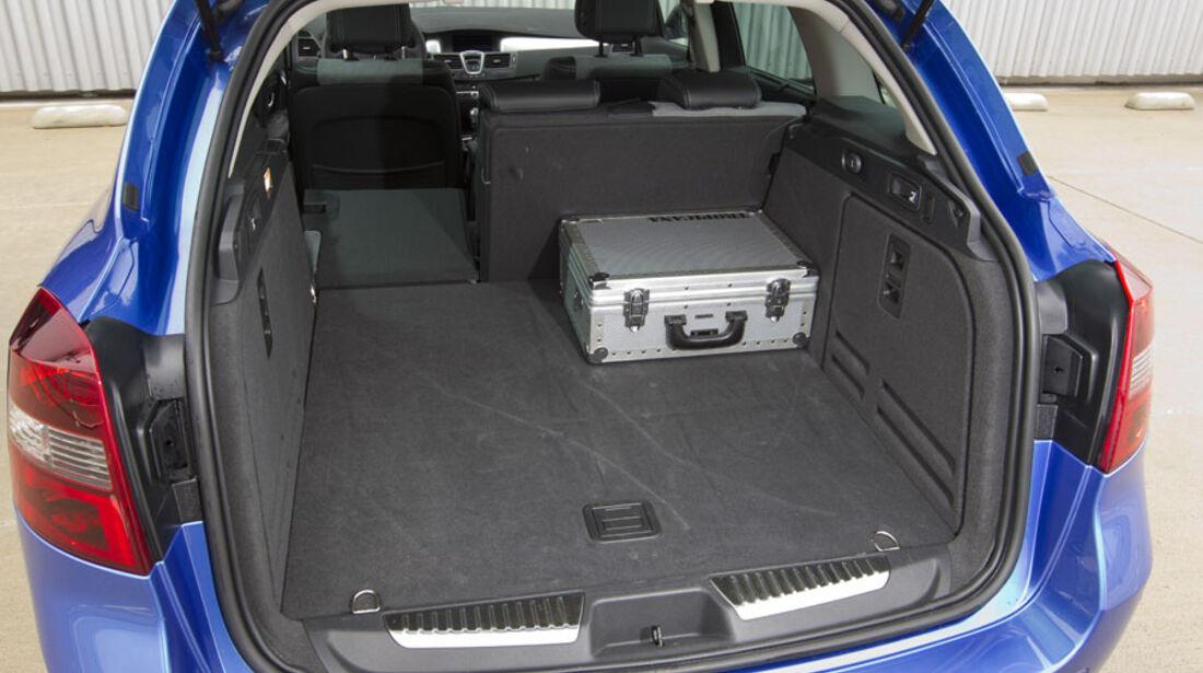 Renault Laguna Grandtour, Kofferraum