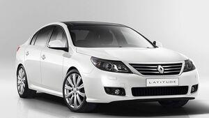 Renault Latitude Front