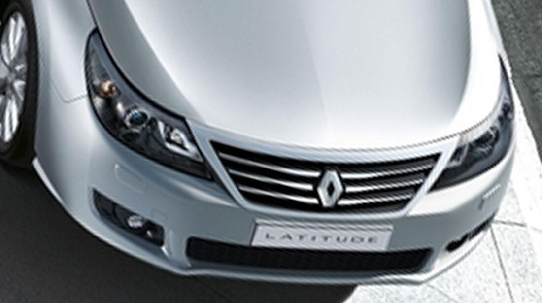 Renault Latitude Motorhaube