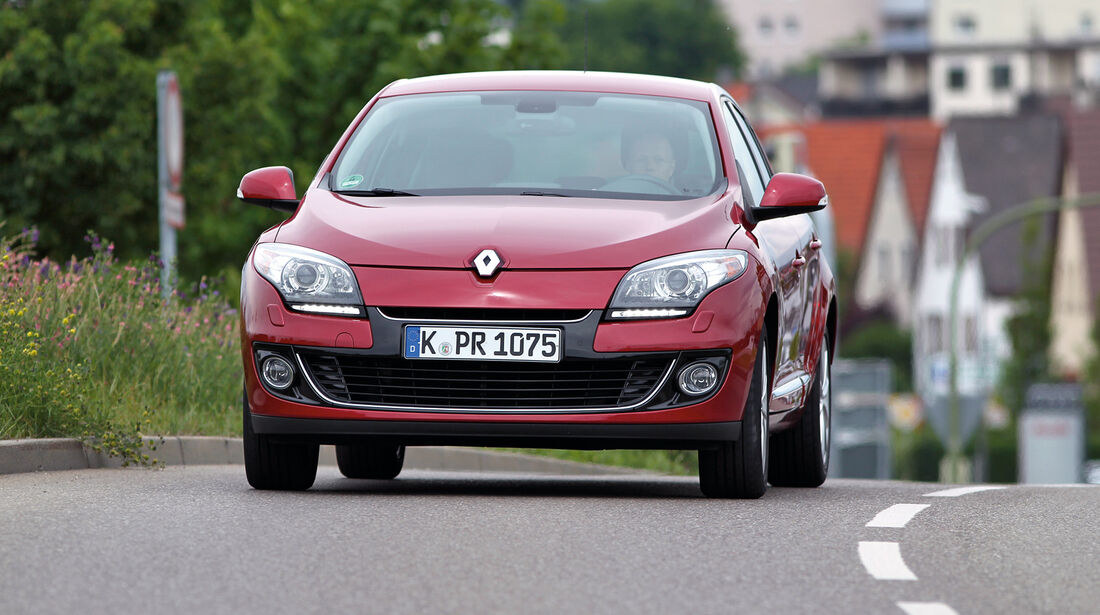 Renault Mégane TCe 130, Frontansicht
