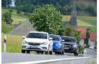 Renault Megane GT TCe 205, Opel Astra 1.6 DI Turbo, Peugeot 308 GT 308 GT THP 205