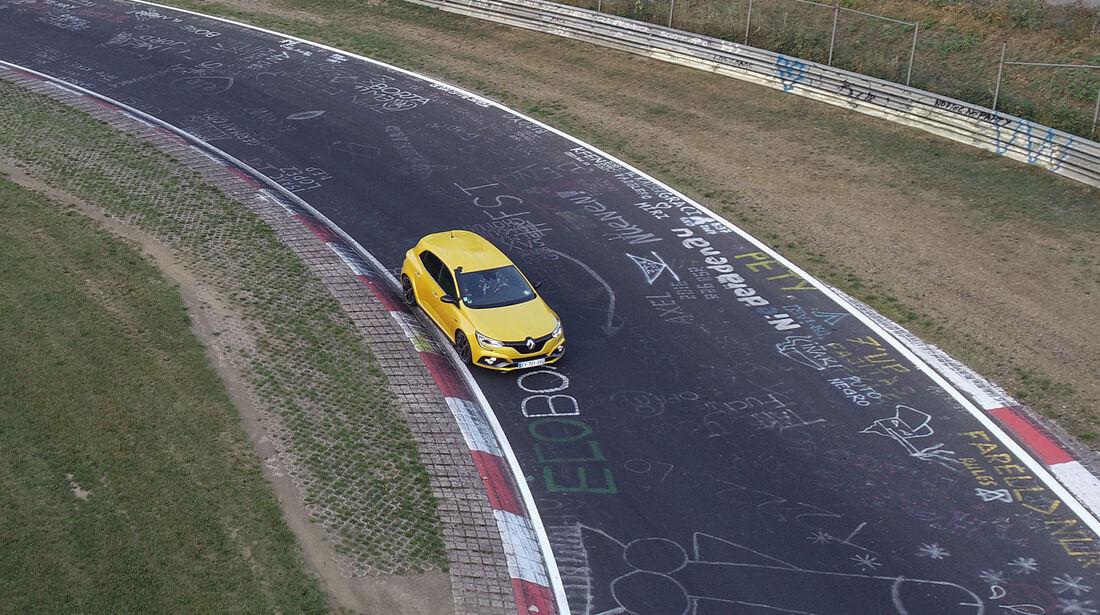 Renault Megane R.S., Front, Nordschleife