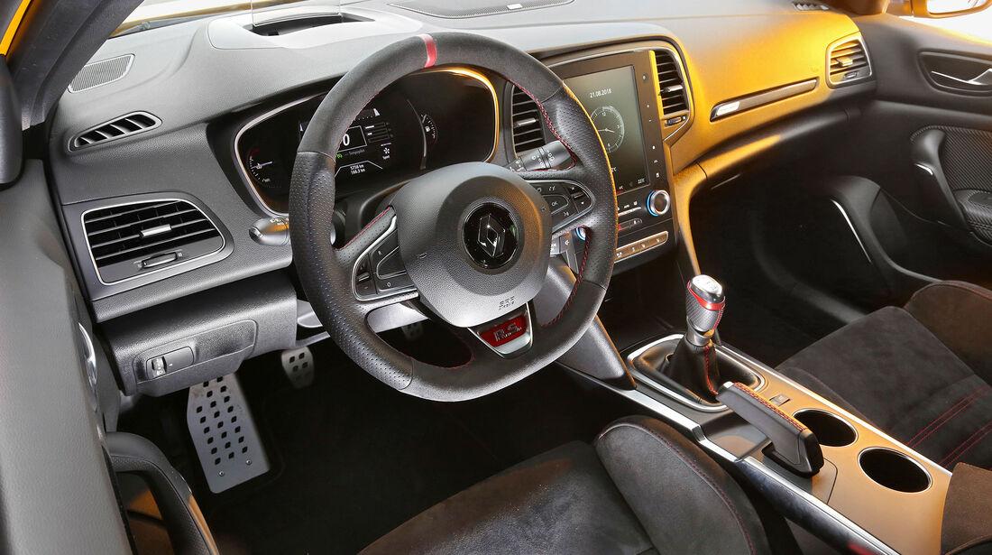 Renault Megane R.S., Inneraum