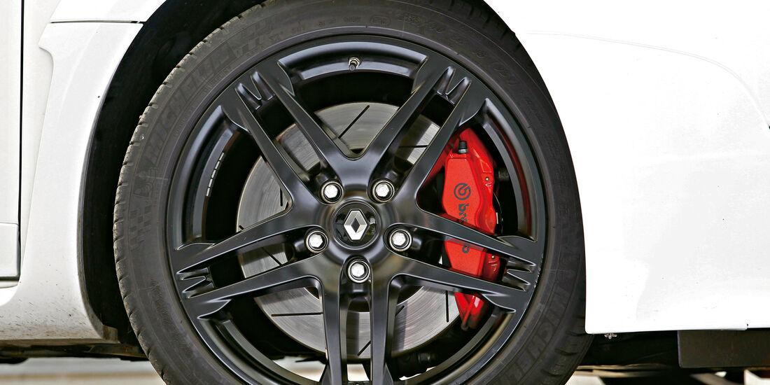 Renault Megane R.S., Rad, Felge, Bremsscheiben