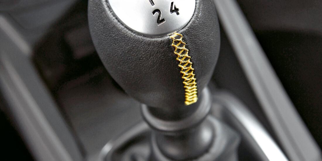 Renault Megane R.S., Schalthebel, Schaltknauf