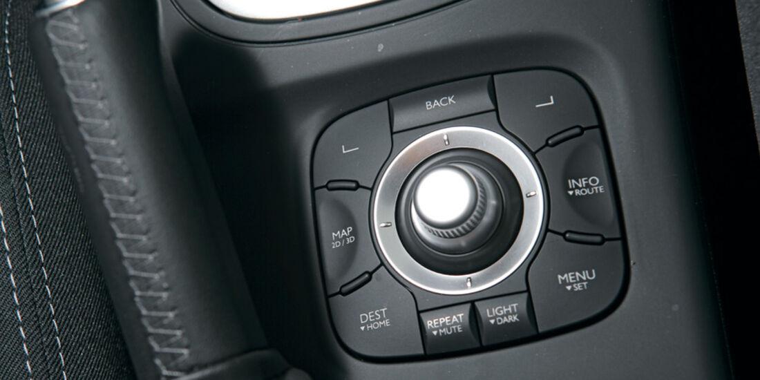 Renault Megane TCE 130, Multifunktionsknopf, Detail